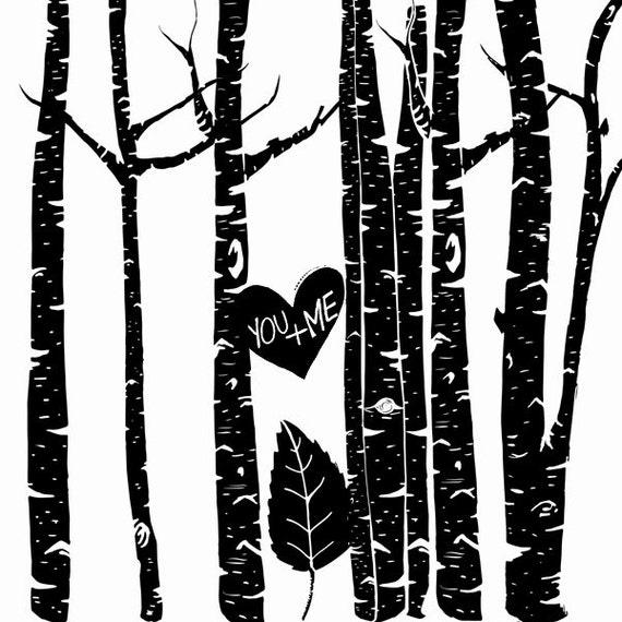 Tree Branches Outline Clip Art Birch Tree Clip Art
