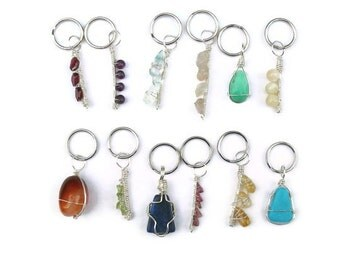 Choose your pet's Birth Gemstone - pet collar charm, handmade one-of-a-kind jewelry for dogs, Only 1 of each available