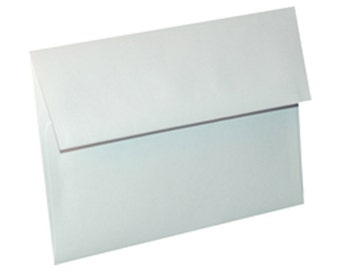 A6 Envelopes for 4 x 6 Invitations, Photos and Cards, White, Pack of 25