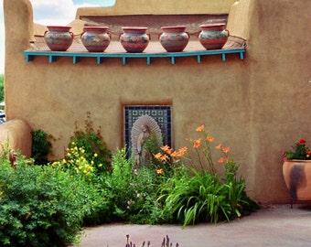 Santa Fe New Mexico Town Square P39