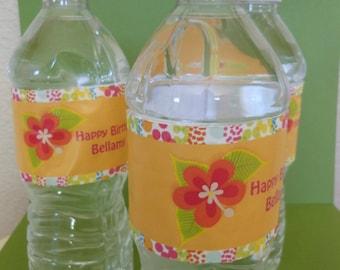 Luau Water Bottle Labels-20