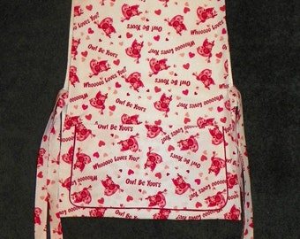 Cobbler Apron Smock Owl be Yours