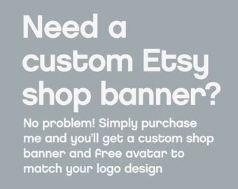 Custom Shop Banner and Avatar Design by Fossdesign