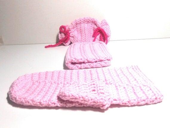 Bath mitt washcloth soap bag or scrubber