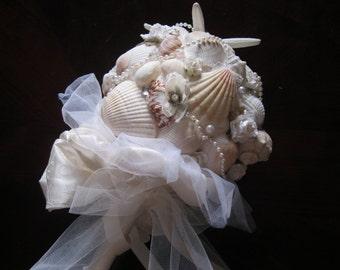Ivory Seashell Bouquet -