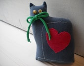 Blue Love Cat no.2