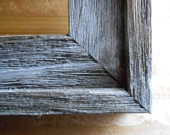 Barn Wood Picture Frames 16x20 comes with Plexiglas