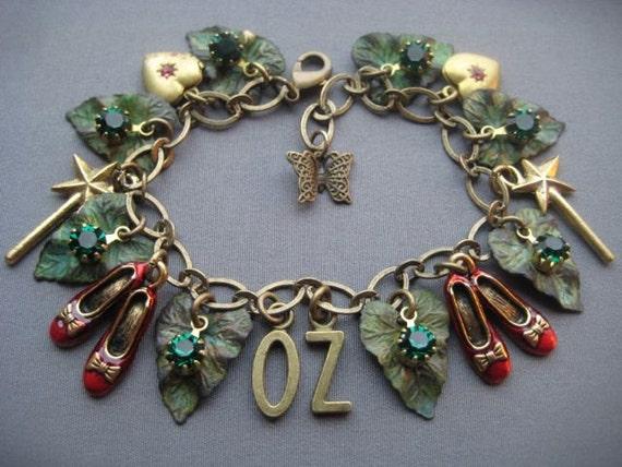 wizard of oz bracelet wizard of oz jewelry dorothy 39 s
