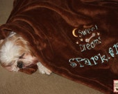 Embroidered Dog Blanket-Sweet Dreams Doggy