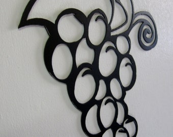 Grape Cluster Metal Wall Decoration Sign
