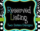 Reserved listing for Amie-14 bridal party cups