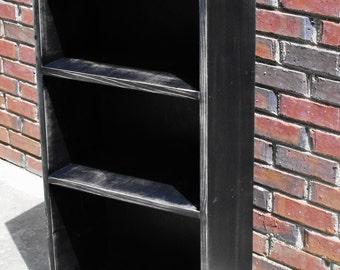 "Rustic Bookcase Storage Shelf Handmade   35"" x 17"" x 9 1/2"""