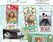 INSTANT DOWNLOAD - New Years iPhone Case Collection - Set of 5 templates for iPhone 4 and 5 on Pro Digital Photos Specs