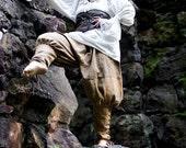 Savvy Pirate Unisex Linen Pants