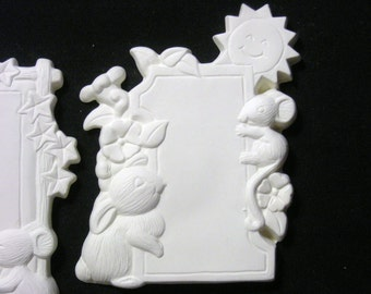 Price includes Shipping Animal Note Boards Magnet Flats or Add Ons Ready to Paint Ceramics