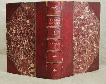 Lorna Doone A Romance of Exmoor by R D Blackmore Vol 2 1894    Sale was 48.00