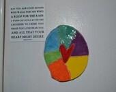 RainBow Heart Magnet