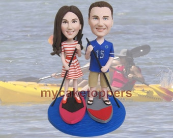 surfing wedding cake topper/custom surfing wedding cake topper/boating/custom wedding cake topper/personalized surfing cake topper