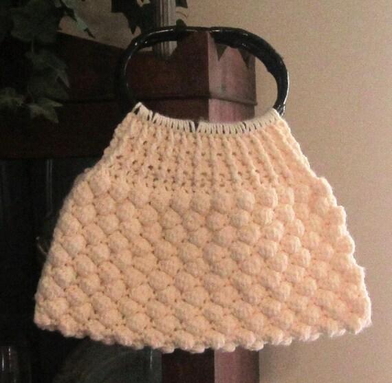 Crochet Stitch Honeycomb : Crochet PDF Pattern for Honeycomb Stitch Handbag by WaltzDesignz