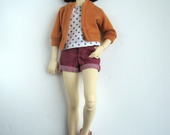 UNOA - Pink Short Jean