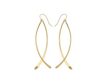 Woman's Dangle Earrings, Long Earrings, Unique Earrings, Boho Drop Earrings, Long Dangle Earrings, Elegant Earrings, Statement Earrings