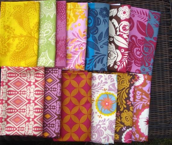 Anna Maria Horner Good Folks Free Spirit fabric 13 FQ bundle