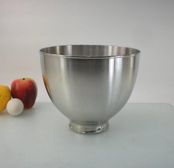 Kitchenaid K45 Stainless Steel Mixer Mixing Bowl By Oldetymestore