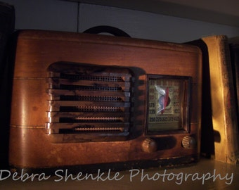 Digital Download VINTAGE RADIO Fine Art Print