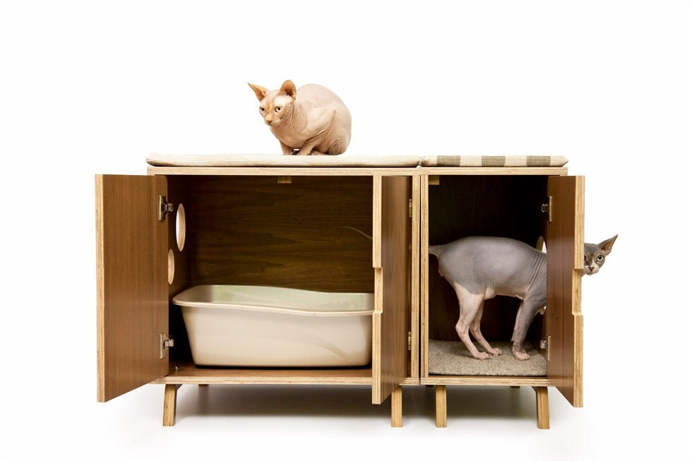 Modern Cat Litter Box Furniture Cat litter box cover