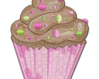 Cupcake - LOTS OF SPARKLES Machine Embroidery Designs