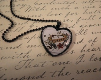 SALE Mother Heart Necklace