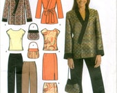 Women's Top, Skirt, Pants and Bag Simplicity Sewing Pattern No. 4748 - Sizes 10-12-14-16-18