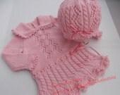 Baby Girl Dress and Beret Set. 12M.