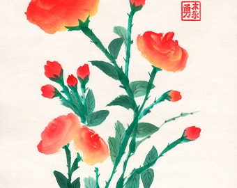 Red roses 2 8x10 (Print)