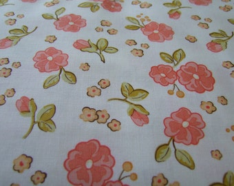 SALE Calliope Stitch Studios Riley Blake Designs  1 Yard Pink Callipe Floral