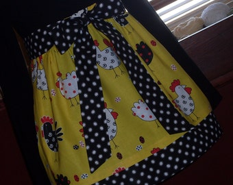 Buy Any 2 Skirts and Get 1 FREE, Here a Chick, There a Chick, Everywhere a Chick Chick Skirt, Size 2, 3, 4, 5, 6, 7, 8, 9, 10, and 12