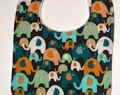 Elephant boutique bib