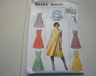 Pattern Ladies Dress - Sizes 8 to 14  Butterick 4443