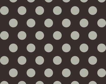 Boo To You Gray Dot by My Minds Eye for Riley Blake 1/2 yard