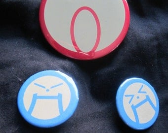 Ace Attorney Cosplay Button Set