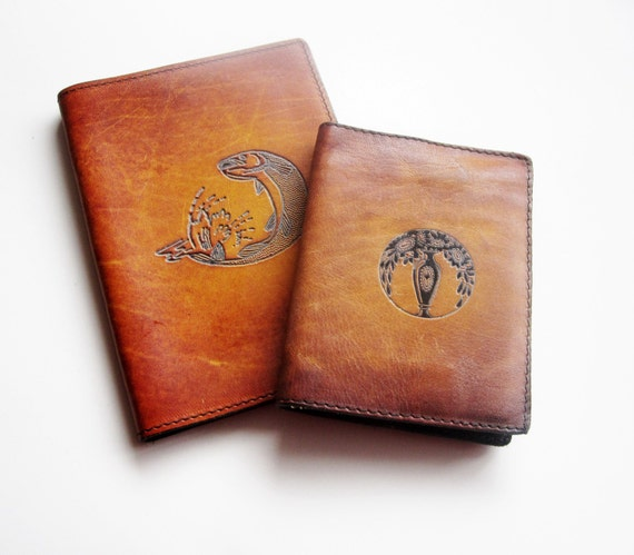 Men S Leather Passport Holder And Card Holder By Latrouvaille