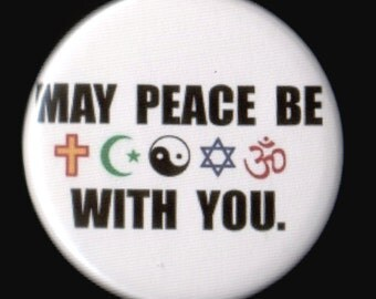 Peace For All Button