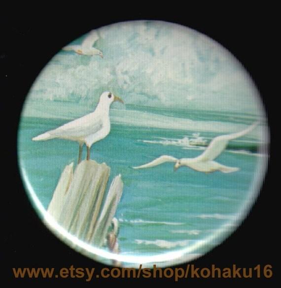 Gulls On The Sea