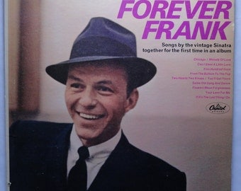 "Rare ""Forever Frank"" Vinyl Record (1966) - Very Good Condition"