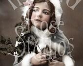 Holly-Victorian/Edwardian Little Girl-Digital Image Download