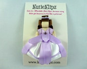SALE - NEW Disney Princess Sophia the First Inspired Ribbon Sculpture Hair Clip ...Hair Accessory ...Hairbow