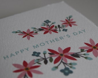 "MOTHER'S DAY CARD - ""Happy Mother's Day"" Card"