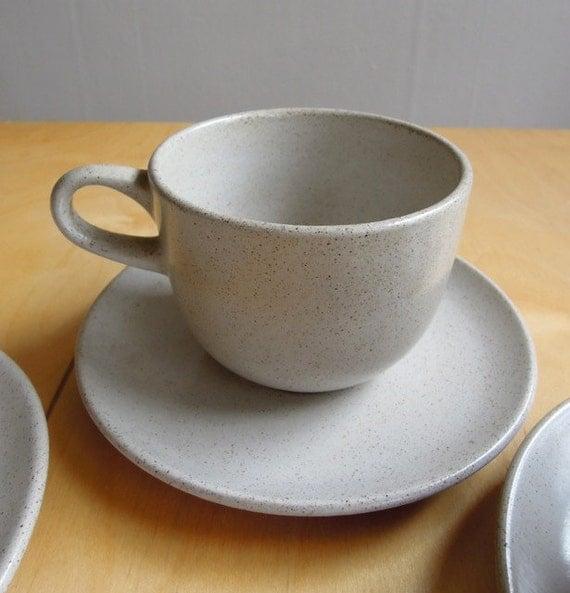 Vintage Heath Ceramics Gray Oversize Teacup (1)