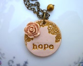 Hope - Breast Cancer Inspirational piece