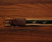 womens vintage dooney and bourke surcingle belt